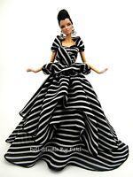 Chiffon Ball Gown Silkstone Barbie Fashion Royalty Candi Evening Dress Outfit FR