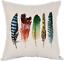 thumbnail 17 - Moslion Indian Horse Cotton Linen Square Decorative Throw Pillow Covers Brown Ho
