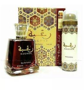 * With Deodorant * Raghba Eau De Perfum EDP Unisex 100 ML by Lattafa Perfumes