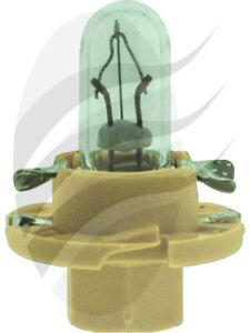 Osram Bax Globe 12V 1.5W Beige Bx8.4D [ref Narva 47748] Pack of 10 (2452MFX6)