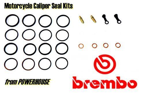 Ducati 1098S 1098 S 2009 09 Brembo Radial front brake caliper seal kit