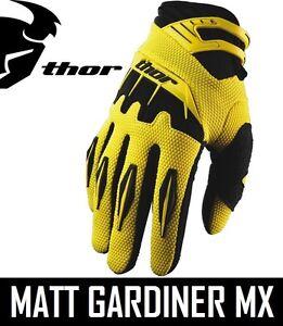 Thor Rebound Gloves 2018 MX Motocross Dirt Bike Off Road ATV Mens Gear