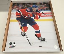 Edmonton Oilers 16x20 Picture Hockey Connor McDavid NHL Action Pose Photo Pic