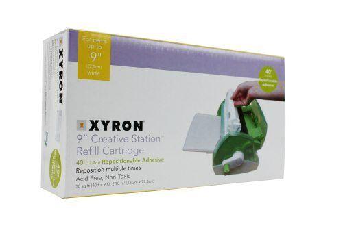 New Xyron 900 Acid Free Repositionable Adhesive Cartridge - Free Shipping