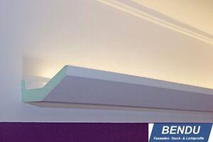 Das Bild Wird Geladen LED Stuckleisten Lichtvouten Indirekte  Deckenbeleuchtung Wohnzimmer Flur BENDU