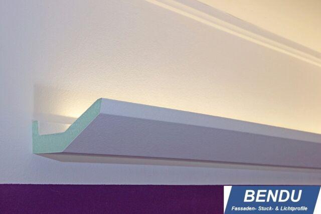 BENDU LED Stuckleisten Lichtprofile für indirekte Beleuchtung Decke Stuckprofile