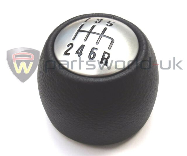 Speed Black Leather Gear Knob OE ALFA ROMEO GT EBay - Alfa romeo shift knob