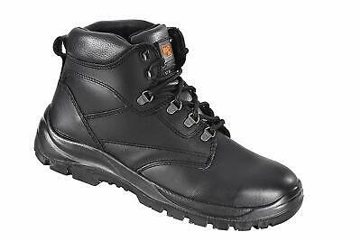 Graft Gear G304 Brown Leather Hiker Safety Toecap Work Boots SIP SRC
