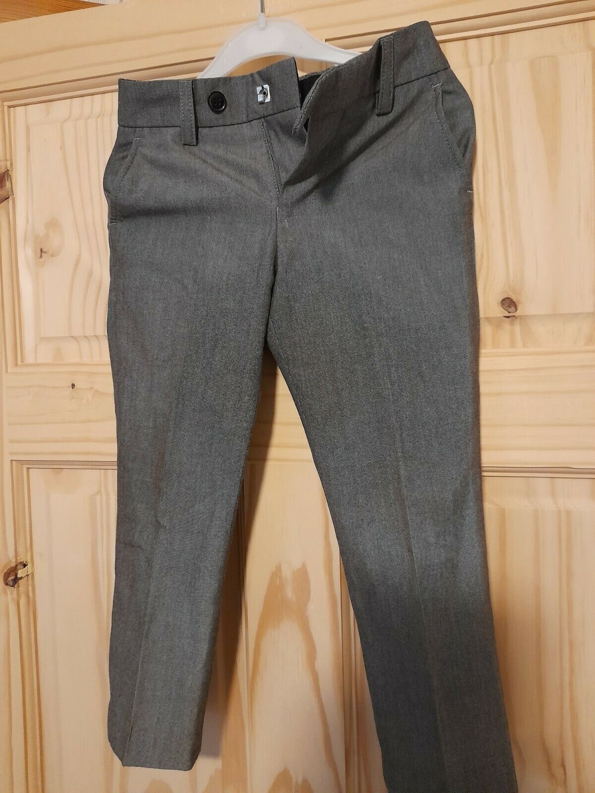 NEXT SIGNATURE BOYS LIGHT GREY FORMAL TROUSERS AGE 4 YEARS