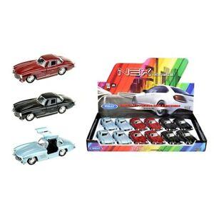Voiture-miniature-MERCEDES-BENZ-300-SL-Oldtimer-Aleatoire-Couleur-Auto-1-34-39