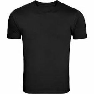 Pack 5 mens plain blank cotton t shirts casual work sports for Plain t shirt pack