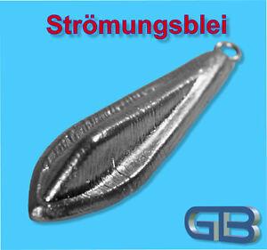 Stroemungsbleie-80g-Angelblei-Grundblei-Karpfenblei-mit-Ose