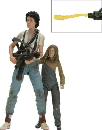 ALIENS 30TH ANNIVERSARY RIPLEY /& NEWT DLX AF 2-PACK