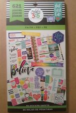 "NEW! me & my big ideas create 365 ""FAITH"" Value Pack Stickers"