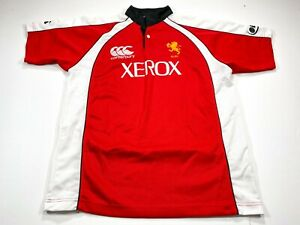 Xerox Canterbury Golden Lions Rugby Union Men's Jersey Size Large