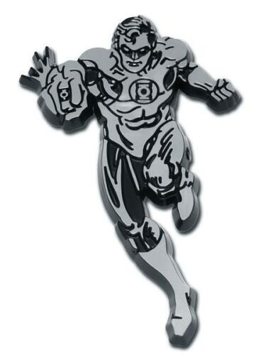Green Lantern Chrome Auto Emblem DC Comics Justice League Officially Licensed