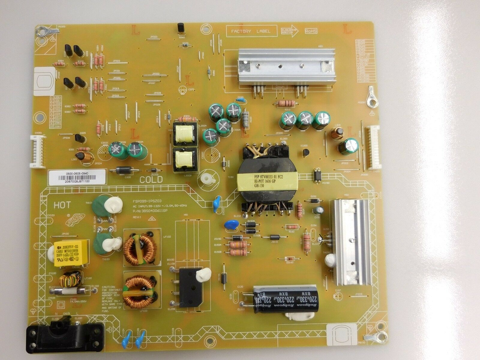 48 D48-D0 0500-0605-0940 Power Supply Board Unit