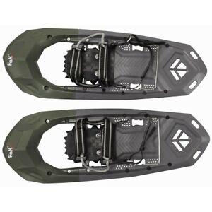 FOX-Schneeschuhe-Lusen-Kunststoff-Schnellverschluss-Wandern-Tiefschnee-Schuh