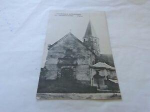Limousin-Malerische-2311-Stein-Buffiere-87-der-KIRCHE-Postkarte-CPA