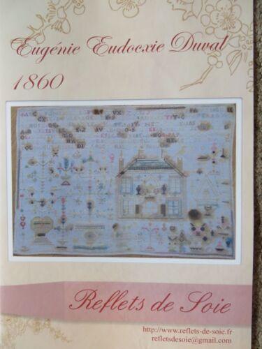 Eugenie Eudocxie Duval 1860 10/% Off Reflets de Soie Counted X-stitch chart