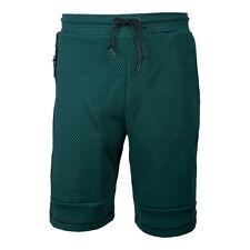 Men's Nike Tech Fleece Printed Shorts Greenblack 819598 351