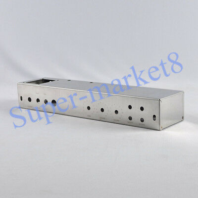 1pc Stainless Steel Guitar 5E8 Tweed Twin Power Low Style Silver Chassis Box DIY