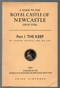 1957-Souvenir-Guide-book-to-Royal-Castle-of-Newcastle-The-Keep