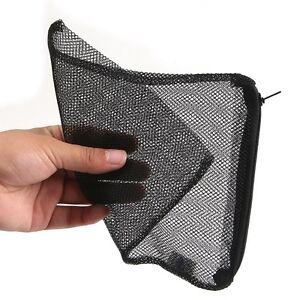 5pcs nylon mesh aquarium pond filter media bag net bag new for Pond filter bag