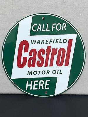 Richfield 1934 RARE garage man cave racing gasoline vintage round metal  sign