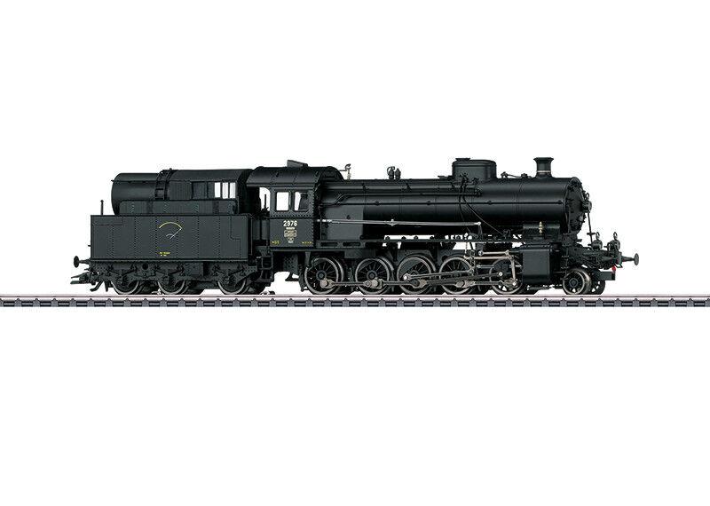 39251 locomotiva a vapore serie C 5/6  ELEFANTE  merce nuova