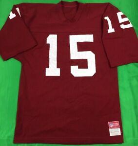 VTG-Sand-Knit-Arizona-Cardinals-Neil-Lomax-NFL-Jersey-Men-039-s-SZ-L-Pro-Cut-Mint