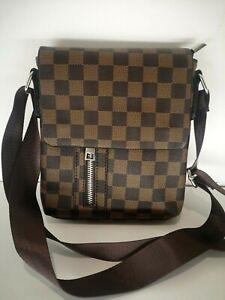Details about Small Mens Shoulder CrossBody Side Bag Boys Handbag Messenger Purse Designer Bag