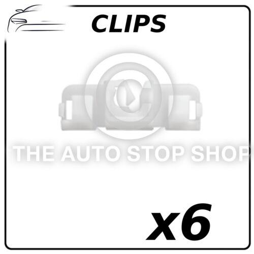 Clip PARABREZZA PEUGEOT 407 Part Number 11260 confezione da 6 in sacchetto di plastica