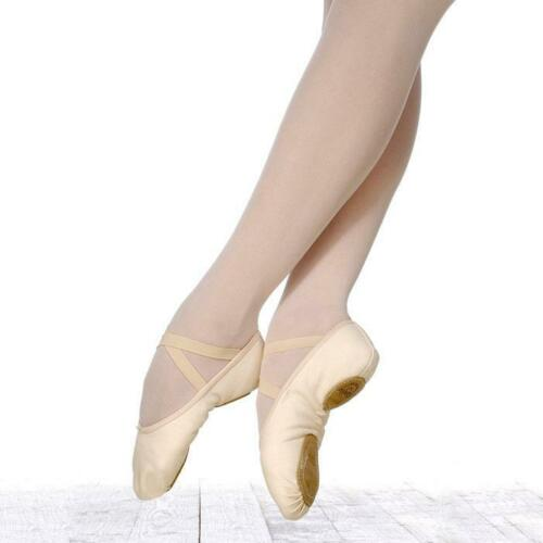 "GRISHKO /""Performence/"" Mod.6   SOFTBALLETTSCHUH MIT GETEILTER SOHLE Ballet shoes"