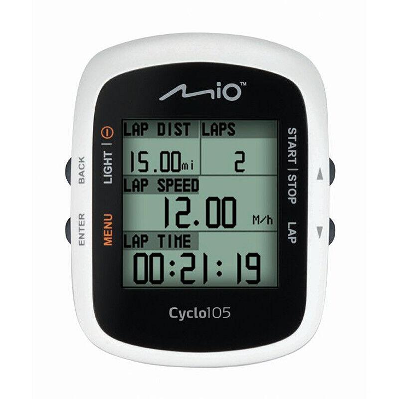Mio Cyclo 105 ANT  GPS Bicicletta Computer CiclismoRRP