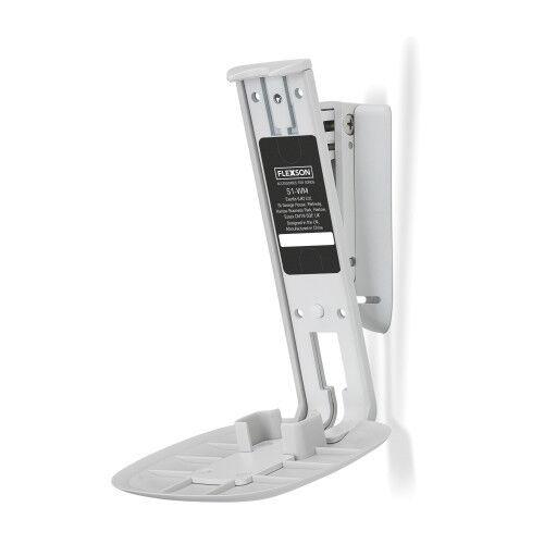 2019 Mode Flexson Flxs1wm1011tilt/swivel Wall Bracket Mount Sonos One/ Play 1 Single White
