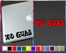 CUSTOM TEXT VINYL Decal by length words only window laptop wall merch swag hydro