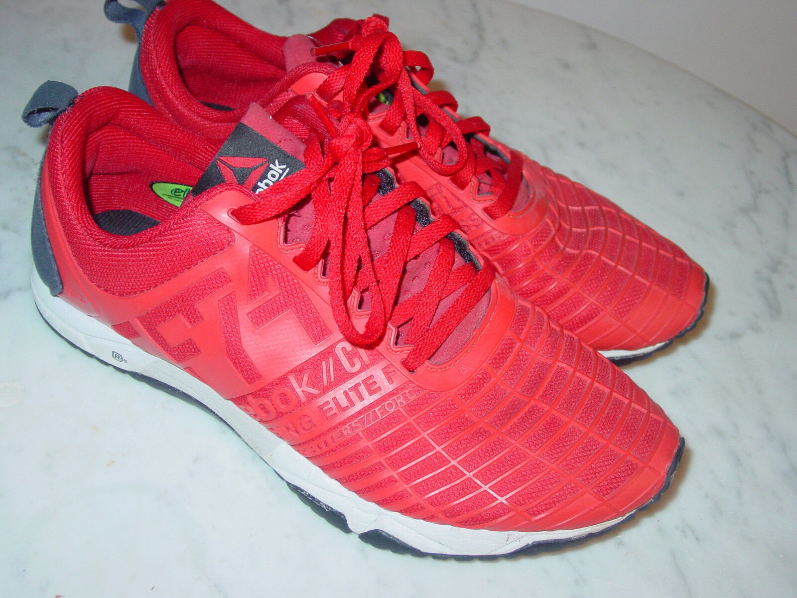 Womens Reebok CrossFit V60013 Sprint TR Cadmium Stadium Red shoes  Size 7.5