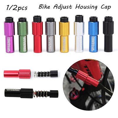 Bike Brake Cable Gear Shift Connector Line Regulator Adjust Housing Cap PVCA