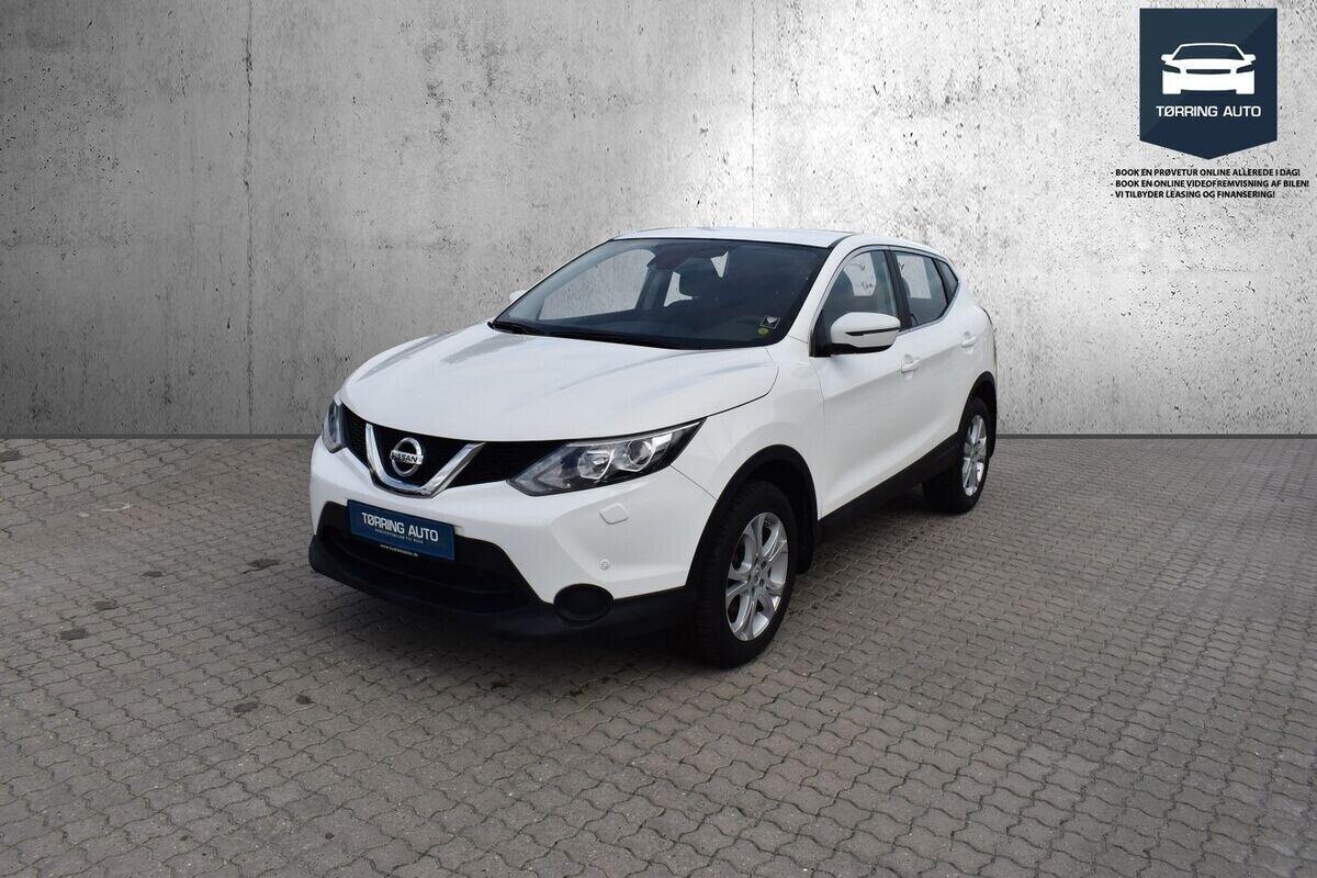 Nissan Qashqai 1,2 Dig-T 115 Visia 5d - 149.900 kr.