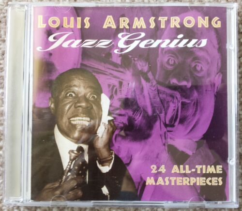 1 of 1 - Jazz Genius....Louis Armstrong....24 Track CD