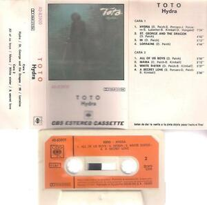 TOTO-Hydra-DIFFICULT-SPANISH-CASSETTE-PAPER-LABEL-orange-1979-CBS