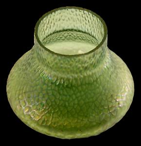 KRALIK verre-Art Nouveau-Irisé Vert vase-afficher le titre d`origine JOCpM6zk-09155654-830858993