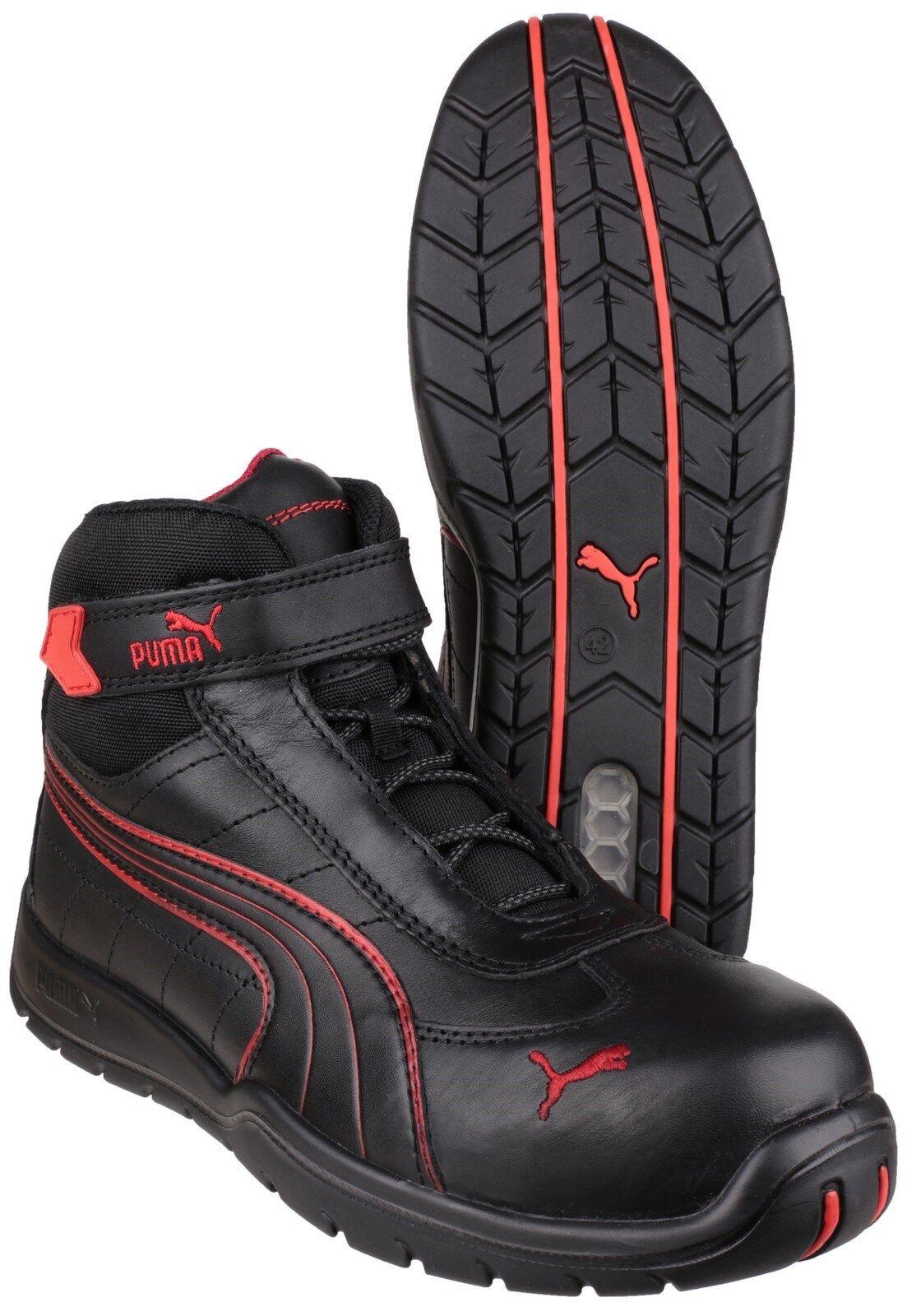 Puma Daytona Mid Mid Mid Safety Mens Composite Toe Cap Industrial Work Boots UK6-12 249745