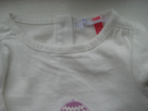 New ex John Lewis Baby Applique Tshirt Top Bird NB to 3 years