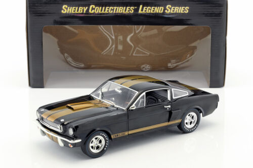 FORD Mustang Shelby GT 350h anno 1966 Nero/Oro 1:18 shelbycollectibles