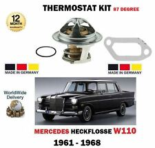 FOR MERCEDES HECKFLOSSE W110 190 200 2.0 2.0D 230 1961-> THERMOSTAT + GASKETS