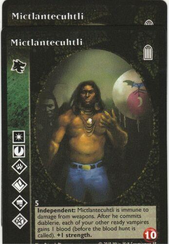 Mictlantecuhtli x2 Gangrel Keepers of Tradition Reprint 1 KoT R1 VTES Jyhad