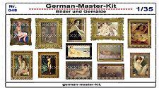 048, Diorama Zubehör Serie Bilder und Gemälde, 1:35, GMKT World of War II