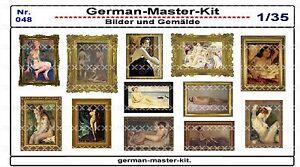 048-Diorama-Zubehoer-Serie-Bilder-und-Gemaelde-Diorama-Zubehoer-1-35-GMK-World
